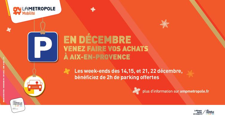 Offre Parkings Noël 2019